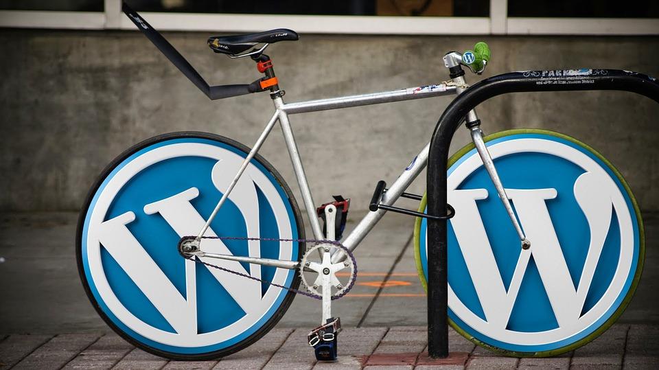 WordPress en bicicleta